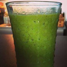 Recept van de week (44) : Go Green Smoothie | Natural Goodies  #superfood #recept #smoothie #groenesmoothie #greensmoothie #fit #healthy #food