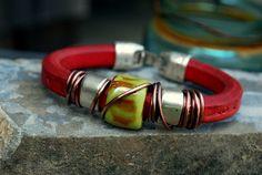 Regaliz Licorice Greek Leather bracelet