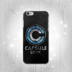 Vintage DBZ Capsule Corp Inspired iPhone 6S 6 Plus by Lantadesign