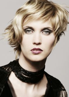 could be  a styling variation on short dark cut.