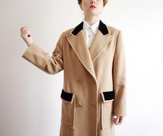 In high school I had a similar coat in a herringbone fabric that was slightly darker than this.