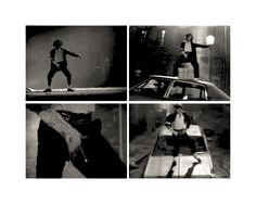 black or white panther dance
