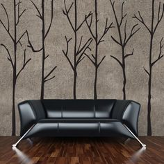 tree wall decal - this is gonna be happening in my bedroom, as soon as I find a decal that won't break the bank!!