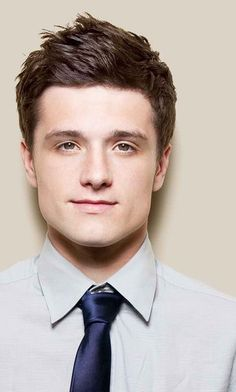 My favorite picture of Josh Hutcherson, who plays-wait for it-Peeta Mellark in The Hunger Games! : )