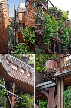 Luciano Pia. Architecture, Torino, Houses, Green Wall.