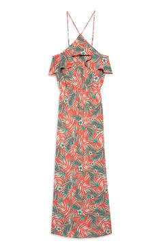 Red lace maxi dress matalan direct