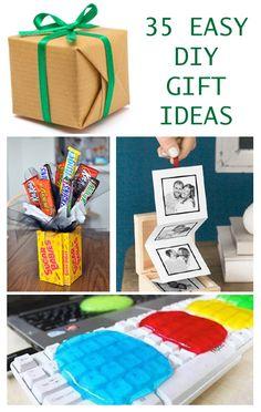 35 Easy DIY Gift Ideas