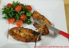 Chicken Cutlets - cooking with Nonna - recipe image
