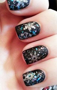 25 Snowflake Nail Designs For Christmas Eve! - Part 6