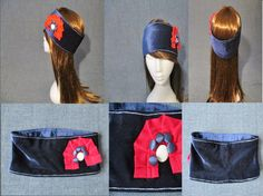 velvet wide headband sewing pattern pdf by Bagsandclothingstore