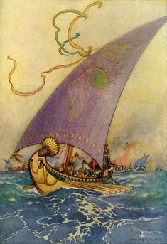 Cleopatra's Barge, Warwick Goble