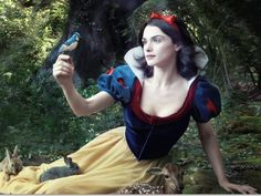 Celebs as Disney Characters - Rachel Weisz as Snow White