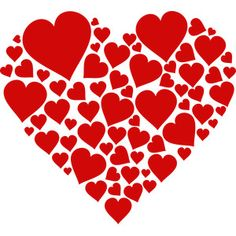 Silhouette Design Store - View Design #241951: hearts love