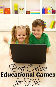 Best Online Educational Games for Kids Kids tend to learn better when they are having fun doing it. This is why I went on the hunt for the best online. Educational Games For Kids, Educational Websites, Learning Activities, Kids Learning, Educational Crafts, Homeschooling Resources, Learning Time, Everyday Activities, Learning Tools