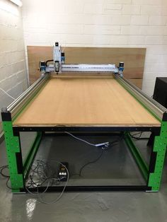 CNC Machine / Router MDL-8'x4' *200mm Rack & Pinion Flat Pack + Steel Frame