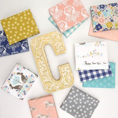 C is for Cottontail. See our new arrivals for our newest in house collection! #cottontailfabric #hawthornethreads