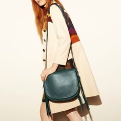 Whiplash Saddle Bag in Leather