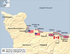 d day landings summary
