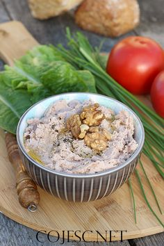 Pasty i pasztety Snacks, Snack Recipes, Acai Bowl, Oatmeal, Cooking, Breakfast, Spreads, Recipies, Snack Mix Recipes
