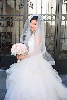 Beautiful Blushing Bride at SoHo63!