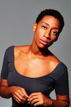 Natural hair - beauty in the short and clean cut