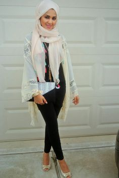 31986f3cadb8 Fashionable summer outfits with modern hijabs - HijabiWorld