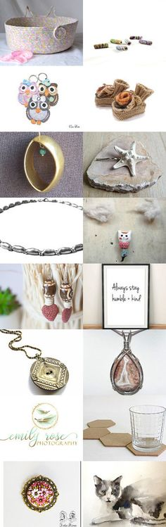 Lovely Etsy Treasury by Whimzingers with unique handmade beads by Fibernique... Cute Cat Bed... Monday Sundries by Julia on Etsy--Pinned+with+TreasuryPin.com