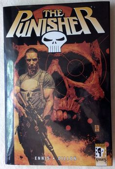 Punisher Vol. 1: Welcome Back, Frank by Ennis & Dillon (2002, Hardcover) TPB