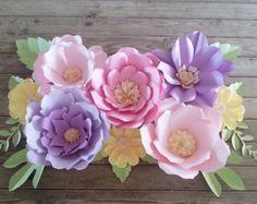 paper flower wedding trellis - Google Search
