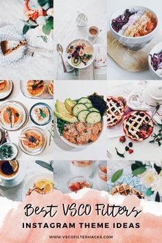 Check out these VSCO filter settings that you may follow when editing your photos to achieve a cohesive Instagram theme. Best Vsco Filters, Free Filters, Vsco Presets, Photo Tips, Fresh Rolls, Instagram Feed, Food Photography, Ethnic Recipes, Check