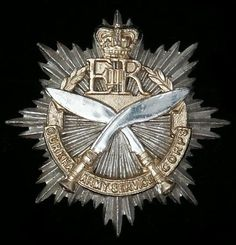 Gurkha Army Service Corps Cap Badge
