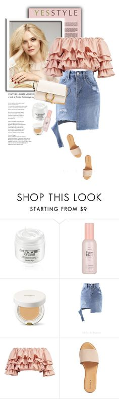 """YESSTYLE.com"" by monmondefou ❤ liked on Polyvore featuring L'Oréal Paris, Chlo.D.Manon, Boohoo, Hinge and Chloé"