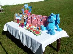 Party Favors Table - Blues Clues