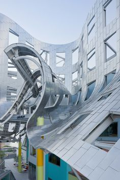 Keep Memory Alive Event Center Las Vegas designed by legendary architect Frank Gehry. Photo by Iwan Baan.