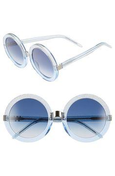 Wildfox 'Malibu' 56mm Round Sunglasses   Nordstrom
