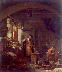 Painted Alchemists: Thomas Wijck at the Intersection of Art, Science, and Practice