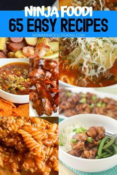 Are you ready to fall in love with the Ninja Foodi? These 65 Easy Ninja Foodi Recipes will help you get started cooking with the Ninja Foodi. Air Fryer Dinner Recipes, Air Fryer Recipes Easy, Grilling Recipes, Easy Dinner Recipes, Easy Meals, Cooking Recipes, Easy Recipes, Budget Cooking, Easy Cooking