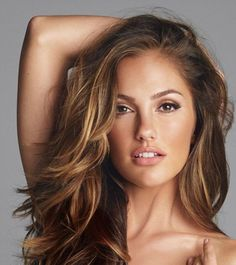 I might try this! Minka Kelly's rich caramel brown hair color is flattering for her tan skin tone. Get your own best hair color and cover grays at home @ http://www.haircolorforwomen.com/breakthrough-hair-color-system-your-salon-doesnt-want-you-to-know-about-p/