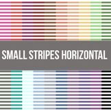 Small Stripes Horizontal Digital Background Paper - Commercial Use Allowed