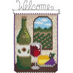Herrschners® Tuscany View Beaded Banner Kit