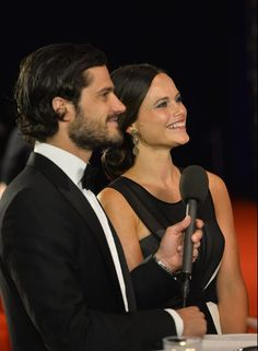Queens & Princesses - rince Carl Philip and Sofia attend the gala evening rewarding Swedish athletes held in Stockholm.