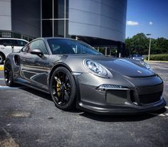 Porsche 991 GT3 RS painted in paint to sample Agate Grey Metallic  Photo taken by: @porsche_of_orlando on Instagram