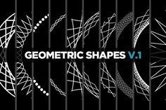 10 Geometric Shapes v.1 by raulativity on Creative Market