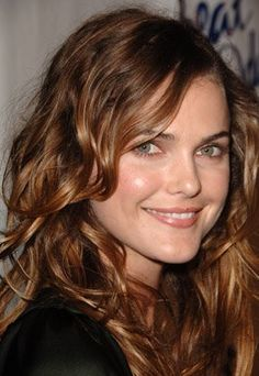 Keri Russell - love this color