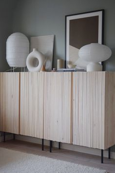 Pretty Movement - The place to be to check out inspiring IKEA Hacks. - Prettypegs - IKEA Ivar Hack with Wooden Rods Pretty Movement - The place to be to check out inspiring IKEA Hacks. - Prettypegs - IKEA Ivar Hack with Wooden Rods Ikea Furniture Hacks, Furniture Legs, Ikea Hacks, Furniture Storage, Ivar Ikea Hack, Ikea Furniture Makeover, Diy Hacks, Ikea Ivar Cabinet, Ikea Cabinets