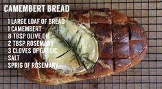 Homemade Tries: Camembert Bread