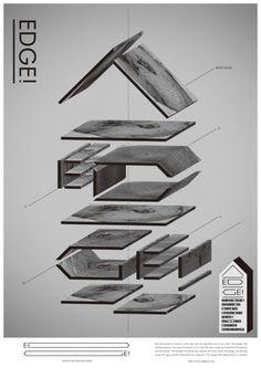 Ttsushima Design – EDGE! poster