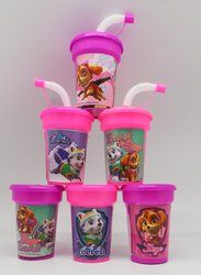kye and Everest Paw Patrol Girl Party Cups 6 pack Sipper Favor Cups