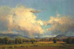 Yampa Valley Skies  by Kim Casebeer  Oil 24 x 36