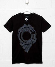 Section 9 Big Print T Shirt - Black / 3XL